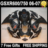 Wholesale 7gifts Seat Cowl For SUZUKI GSXR Matte black K6 GSXR750 GSXR600 C L83 ALL Flat black GSX R600 R750 Fairing On Sale