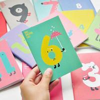 Wholesale Cute bear candy color fresh A6 mini diary notebook C206