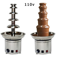 Wholesale v Electric Tiers Party Hotel Commercial Chocolate Fountain