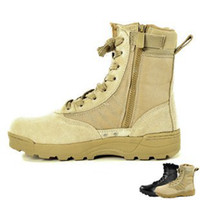 Wholesale HOT NEW SWAT Tactical boots airsoft boots Delta Tactical boots