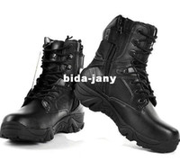PU army specialist - Delta Outdoor Camping Specialist Boots Army Boots Shoes