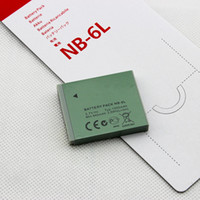 Wholesale EMS V mAh NB L Rechargeable Camera Li ion Battery For Canon IXUS85 IXUS95 IXUS105 IXUS210 IXUS200