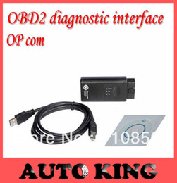 Wholesale Best Version with PIC18F458 chip op com auto scanner V1 newly OBD2 Op com Opcom for opel scan tool DHL