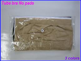Wholesale Fashion Sexy Womens Strapless Boob Tube Top Bandeau Bra sets