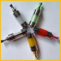 Wholesale U DCT Atomizer U DCT Cartomizer U DCT Clearomizer U DCT Vaper e cigarette UDCT eGo battery e cigarette with copper drip tips