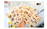 Wholesale South Korea sweet stereo glue mobile phone stickers YOU AND I Zhang