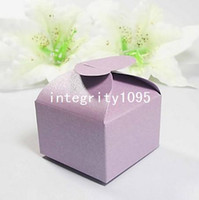 baby shower gift items - Lilac HEART Gift Candy Favor Boxes Pearl Paper Favor Box Bonbonniere Wedding Item Party Baby Shower