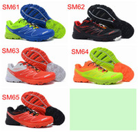 Summer EVA Mesh 2013 New Arrival Salomon S-LAB SENSE M Running Shoes mens Shoes Original Quality Hiking Shoes Allow Drop Shipping.