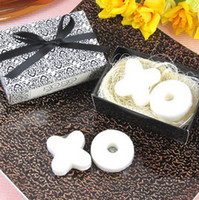 Wholesale quot X O shape quot letter sets Sweet Handmade mini Soap gift as wedding giveaway gifts souvenirs