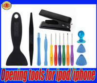 Wholesale Hot selling in Screwdriver tool Opening tools for ipad iPone s cell phone repair disassemble kit set for phone