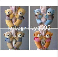 Wholesale 10 Pairs Hot Flock Little Bear Window Curtain Buckle Tieback Clamp Clip Hook colors