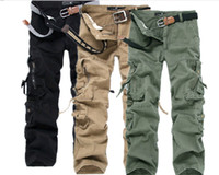 Wholesale New Men s Cargo Pants Leisure Trousers Loose cargo pants for men pants