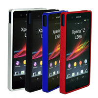 Wholesale S5Q Metal Aluminum in1 Bumper Case Hard Frame Cover For Sony Xperia Z L36H AAACAC