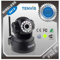 Wholesale 2X Camera Security infrared Led CCTV Camera Free Iphone Android APP Way Audio Wifi Video Surveillance camera