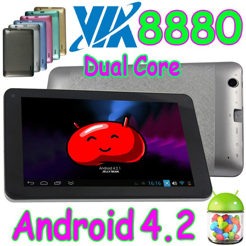 7 Inch VIA8880 VIA WM 8880 Dual Core Android 4.2 Capactif Multi Touch Tablet PC