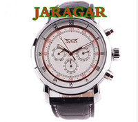 Wholesale Best price for All jaragar brand luxury automatic mechanical Hands men watch DHL