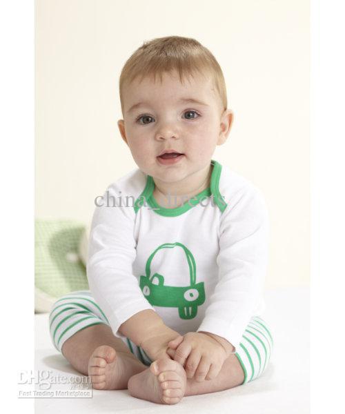 Baby Boys' Pajamas Setbaby Wear Set Baby Long Sleeve Pajamas Boy's ...