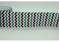 Ribbons chevron ribbon - 1 chevron printed grosgrain ribbon