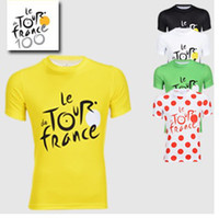 Wholesale 2013 Tour de France Cycling Jerseys Breathable Quickly Dry Cycling Tops Short sleeve Bike Shirts Riding Jackets Size S XL