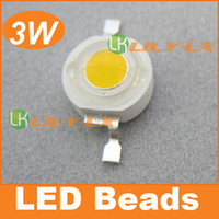 Wholesale Free ship LED Chip LM W led lamp Super bright high power Led beads with Red GREEN BLUE White Warm White color bulb years Warranty