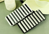 Wholesale Louver Blind Window Strips Hollow Out Ladder Case protective skin back cover for Iphone G Colors