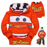 sweatshirt hoodies - fashion autumn kids hoodies sweatshirt cartoon cars baby boys polo hoody sweatshirts childen pullover outerwear