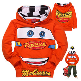 Wholesale fashion autumn kids hoodies sweatshirt cartoon cars baby boys polo hoody sweatshirts childen pullover outerwear