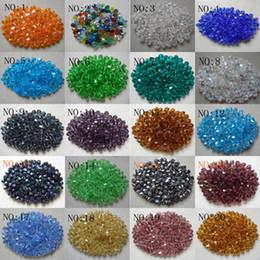 Wholesale mm swarovski crystal Bicone Beads U Pick color