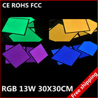 Wholesale various size RGB full color W led panel light super thin ceiling lamp energy saving