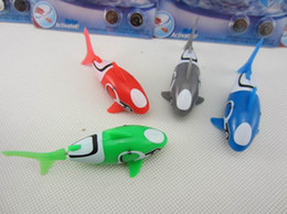 Wholesale Novelty Robo fish shark Water Activated Magical Turbot Fish Christmas Magic Toys Xmas Gifts