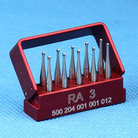 Wholesale Brand New Dentist SBT Dental Tungsten Steel drills burs For low speed Handpiece RA With Autoclavable bur holder Lab Clinic use
