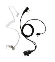 radio earpiece - PIN Noise Reduction Covert Acoustic Tube Earpiece for Radio WOUXUN HYT TYT BAOFENG UV R Black C9003A