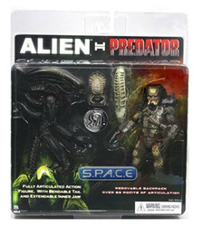 Wholesale NECA Alien VS Predator Tru Exclusive PACK PVC Action Figure Toy MVFG036