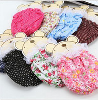 Wholesale Floral fashion cute mini mini half sleeve cotton lace protection sleeve