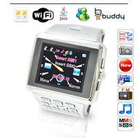 Wholesale watch mobile phone wifi X8 watch steel watch mobile phone dual card dual standby JAVA QQ smart watches