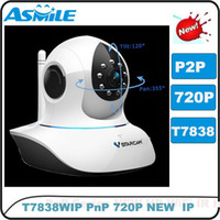 Wholesale VStarcam T7838WIP HD P Wifi webcam pt network ip camera security ip camera for baby monitor with software