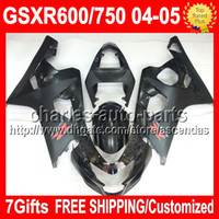 7gifts+ Seat Cowl For K4 SUZUKI GSXR 600 750 ALL Black GSX- R6...