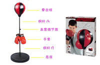 kids boxing gloves - new arrival top quality kids Boxing Gloves with adjustable boxing balloon retail packaging