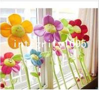 Wholesale Cute Creaive Sunflower Curtain buckle for Home Decorative