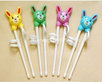 Bamboo bamboo infant toppings - chopstick learn for kids children learning chopsticks plastic toy infant chopsticks top quality factory price