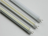 T8 8w SMD 3528 8W T8 LED Tube led Fluorescent Lamp led fluorescent light led tube light 120pcs SMD3528 2ft 60cm 600mm 0.6m AC90-240V DHL free shipping