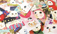 Wholesale SQ Jetoy cute cat cards greeting cards New Year Christmas Gift Cards cm