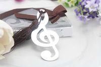 Wholesale off per Wedding supplies Birthday music break bookmarks Set for Wedding gift Hot sale pieces WG002