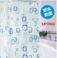 Wholesale Brand New Bathroom Lovley Waterproof mildew PEVA Shower Curtain and Retail