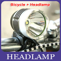 Wholesale Hot Sale Lumen CREE XML T6 LED Bicycle Bike Headlight Lamp Flashlight Light Headlamp in Outdoor Light