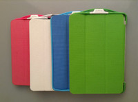 Wholesale 2pcs Smart case iPad Mini Power bank charger Smart Flip Leather Cover for iPad Mini Battery Charger Case mah
