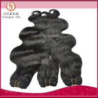 Wholesale Mix quot quot Indian Virgin Remy Hair Weft Body Wave Human Hair Weave