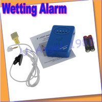 Cheap Free shipping+Adult Baby Bedwetting Enuresis Urine Bed Wetting Alarm +Sensor With Clamp--FL1728