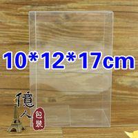 Wholesale Factory direct sales Spot PVC clear plastic box Display cosmetic car models toy etc box cm