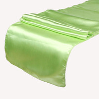 Wholesale Piece Lime Green Table Runner quot x108 quot Wedding Decoration Supply Party Decor